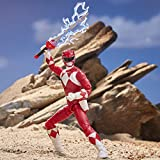 """Power Rangers E7755  Lightning Collection 6"""" Mighty Morphin Red Ranger Collectible Action Figure Toy with Accessories"""