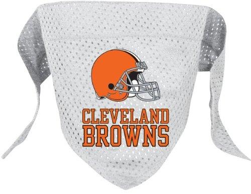 Hunter Cleveland Browns Pet Dog Football Jersey Bandana M/L -