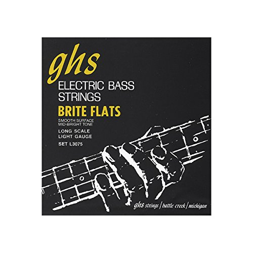 ghs-l3075-brite-flats-flatwound-electric-bass-strings