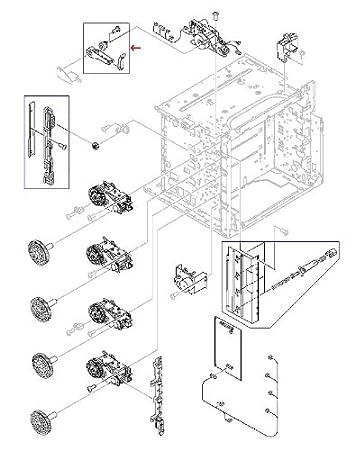 amazon com: rg5-6786-030cn - hewlett packard (hp) printer miscellaneous  parts: electronics
