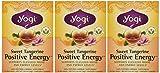 Yogi Sweet Tangerine Positive Energy, 1.02 Ounce (Pack of 3)