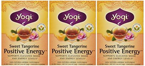 - Yogi Sweet Tangerine Positive Energy, 1.02 Ounce (Pack of 3)