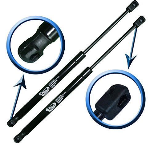Two Rear Hatch Liftgate Gas Charged Lift Supports Set For 2000-2004 Yukon, Suburban, Tahoe, 2002-2006 Escalade. LSC-0112-2