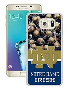 Hot Sale Ncaa Independents Notre Dame Fighting Irish 9 White Samsung Galaxy Note 5 Edge Screen Phone Case Cool and Charming Design