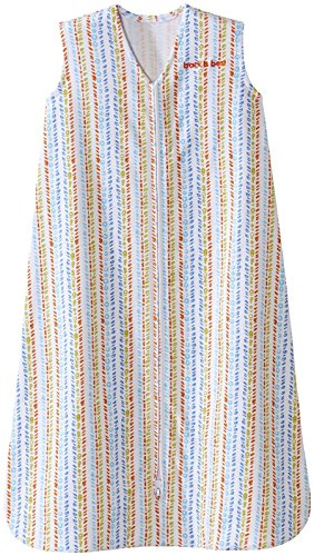 Halo SleepSack, 100% Cotton, Seaglass Fresh, Multi, Medium by Halo