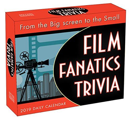 - Film Fanatics Trivia 2019 Boxed Daily Calendar