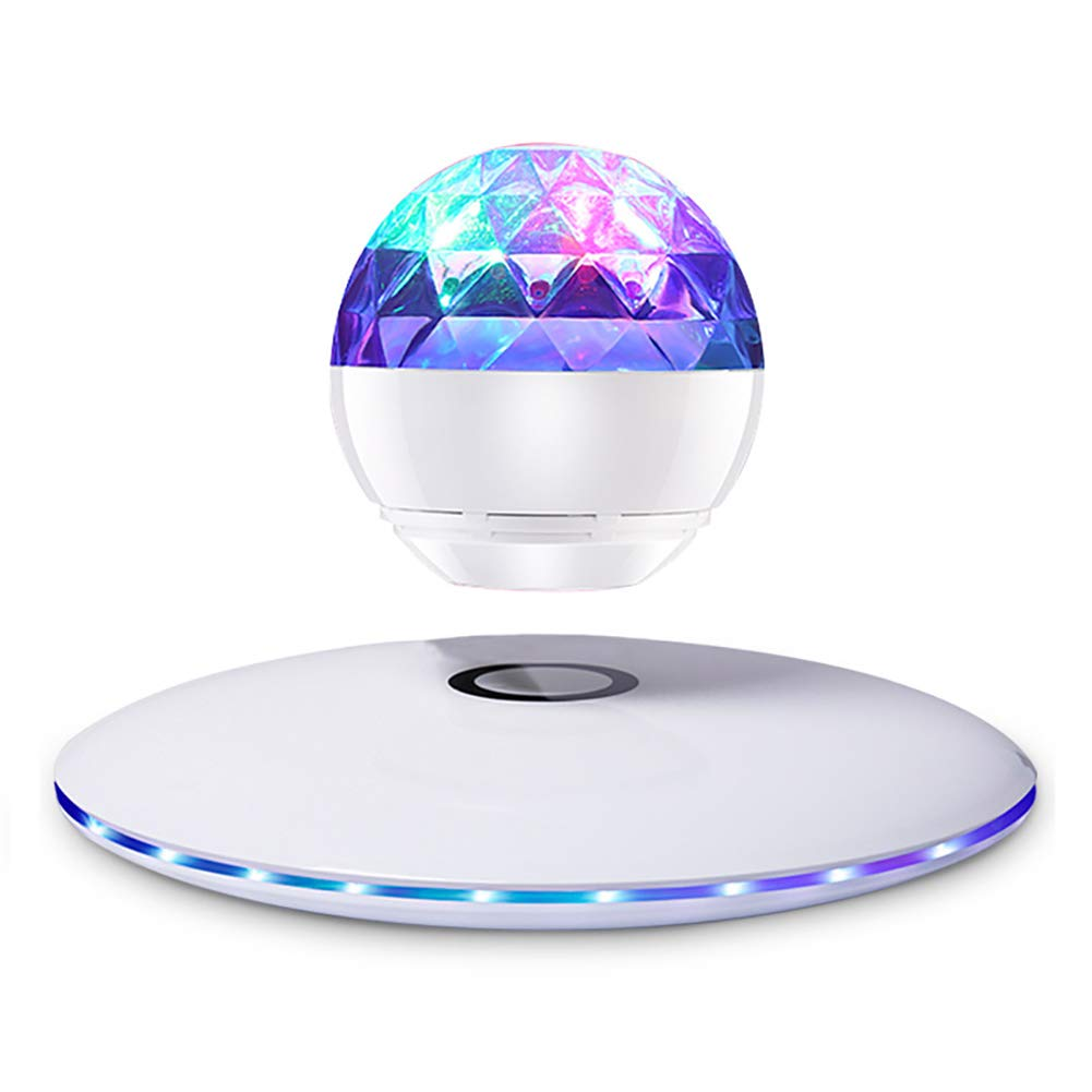 HLL Magnetic Levitation Floating Wireless Bluetooth Speaker Globe Anti Gravity LED Lamp for Kids