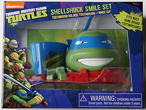 Nickelodeon Teenage Mutant Ninja Turtles Leonardo Great Smile Set, 3 Pc]()