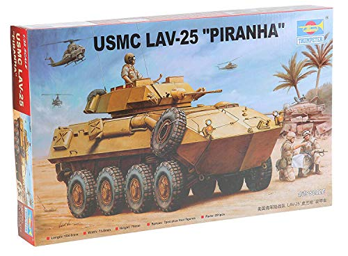 Trumpeter 1/35 USMC LAV-25 Piranha Light Armored Vehicle