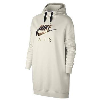 Nike W Nsw Air Hoodie Os phantomblack Kapuzensweats