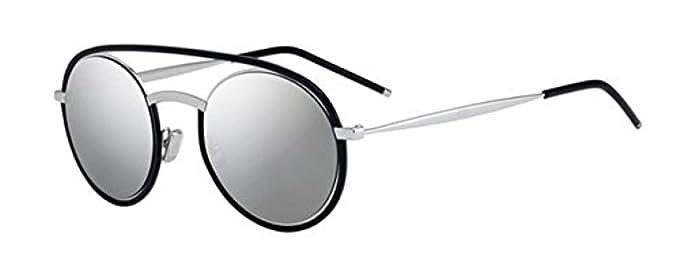a90eff71ff6f Amazon.com  Dior Homme Syntesis01 45Z Havana Silver Syntesis01 Round ...