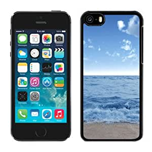 New Beautiful Custom Designed Cover Case For iPhone 5C With Stormy Water Phone Case