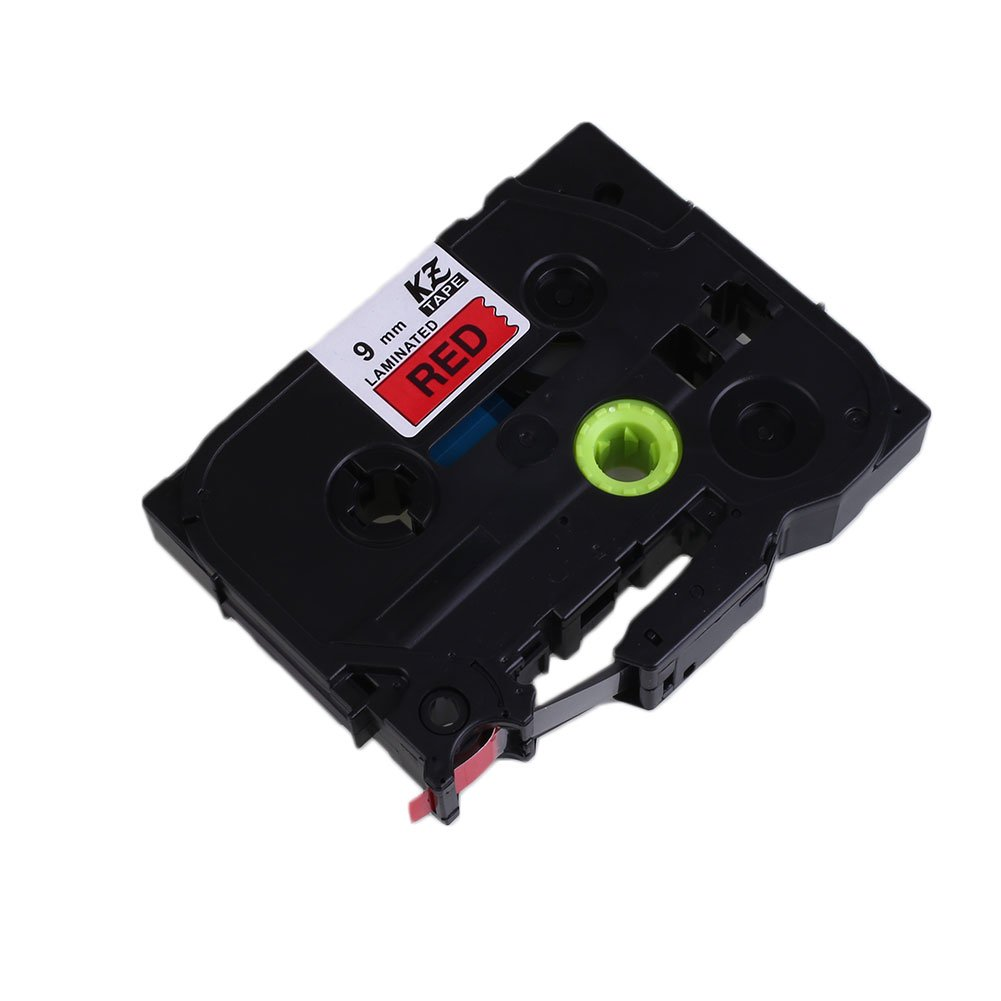 Amazon.com: Tiptiper 9mm x 8m Label Tape Tag Maker Waterproof For Brother TZe-221/621 Label Printer: Office Products