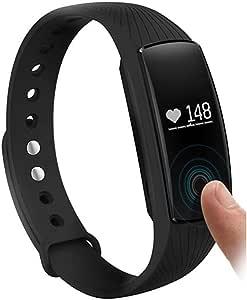 ID107 Smart Bluetooth Sport Watch Wristband Bracelet,Black