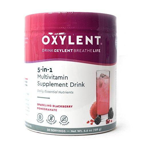 Oxylent Multivitamin Sparkling Blackberry Pomegranate product image