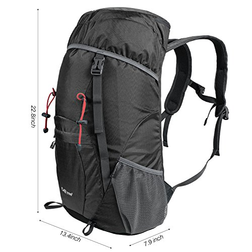 Amazon.com : G4Free Large 40L Lightweight Water Resistant Travel ...