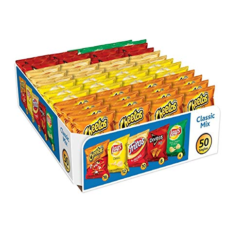 Product of Frito-Lay Classic Mix Chips and Snacks Variety Pack (50 ct.) - [Bulk Savings]