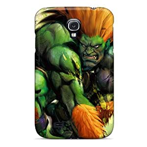 DaMMeke Case Cover Protector Specially Made For Galaxy S4 Blanka