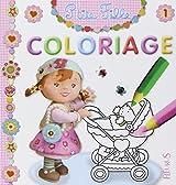 Coloriage P'tite fille : Numéro 1
