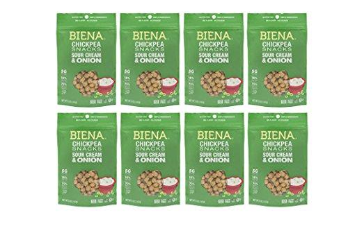 Biena Non gmo Chickpea Snacks 8Count product image