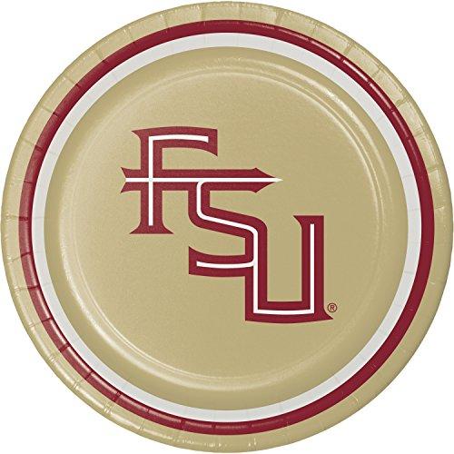 Florida State University Dessert Plates, 24 ct -