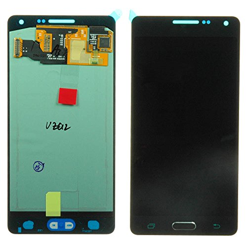 LCD display Touch Screen Digitizer Assembly with Home Button flex for Samsung Galaxy A5 A500 (Black)