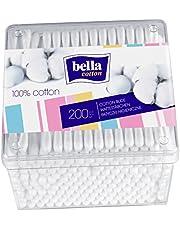 bella Cotton Wattestäbchen in praktischer vorrats Box, 4er Pack (4 x 200 Stück) vielseitig anwendbar
