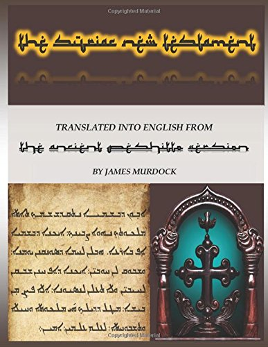 Download The Syriac New Testament From The Ancient Peshitto