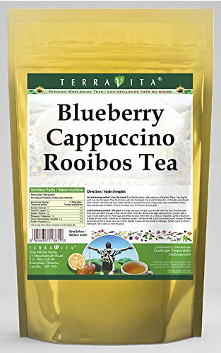 Blueberry Cappuccino Rooibos Tea (50 Tea Bags, ZIN: 544569) - 2 Pack