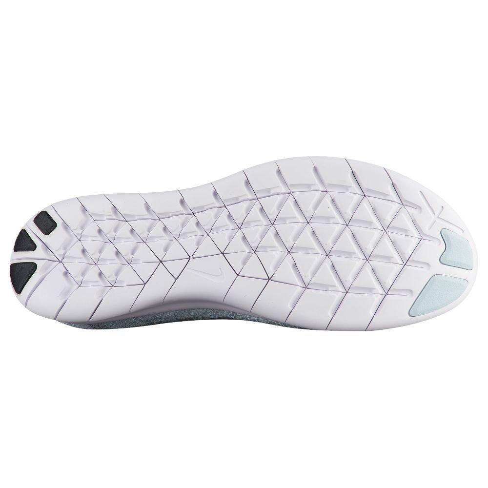 NIKE Women's Free RN Flyknit 2017 Running Shoe B0763QFW8R 10 B(M) US|Pure Platinum/Silver-m