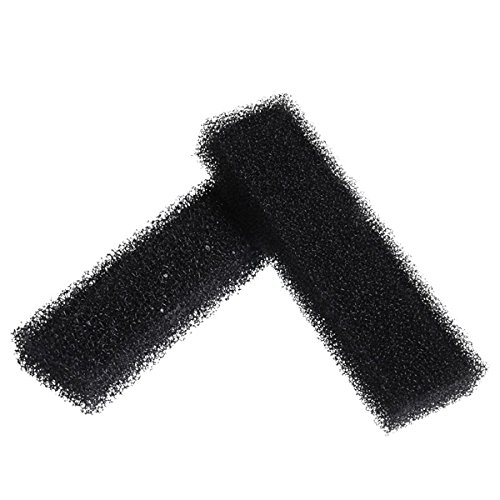Cobalt Aquatics Duo-Filter UV 500 Replacement Sponges (2 Pack), Black by Cobalt Aquatics