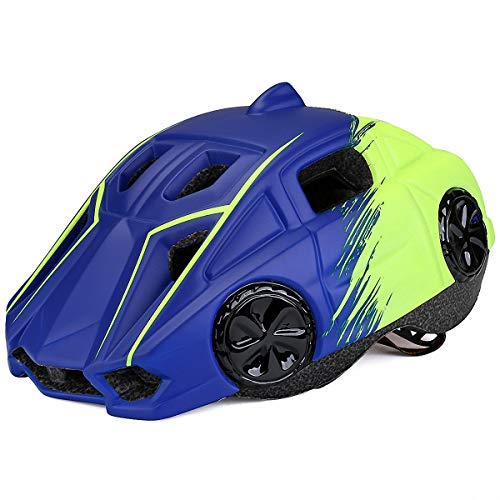 ALPS Kids Automobile Helmet for Bike Cycling Skating Scooter for Girls/Boys (Dino Bmx Bikes)
