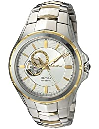 Men's Japanese Automatic Stainless Steel Casual Watch, Color:Two Tone (Model: SSA314)
