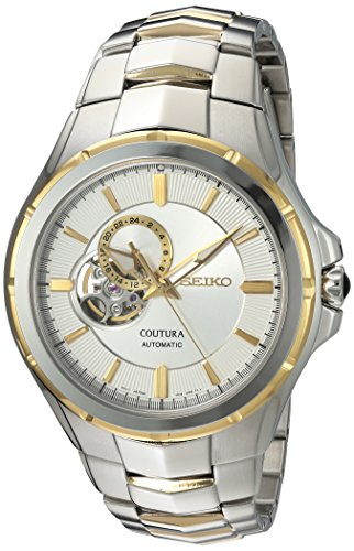 Seiko Men's Japanese Automatic Stainless Steel Casual Watch, Color:Two Tone (Model: SSA314) ()
