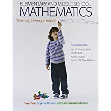 Elementary and Middle School Mathematics: Teaching Developmentally, Third Canadian Edition (3rd Edition)