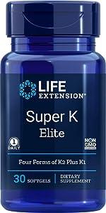 Life Extension Super K Elite, 30 Softgel