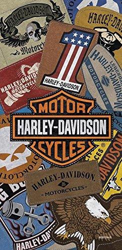 Serviette De Plage Harley Davidson.Mctissus Serviette De Plage Harley Davidson Patches Ref 11897 75 Cm X 152 Cm