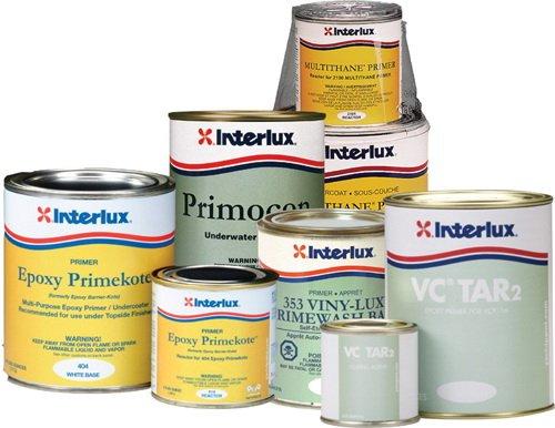 Primers Interlux (Interlux Y404KIT/QT Epoxy Primekote (White), 32. Fluid_Ounces)