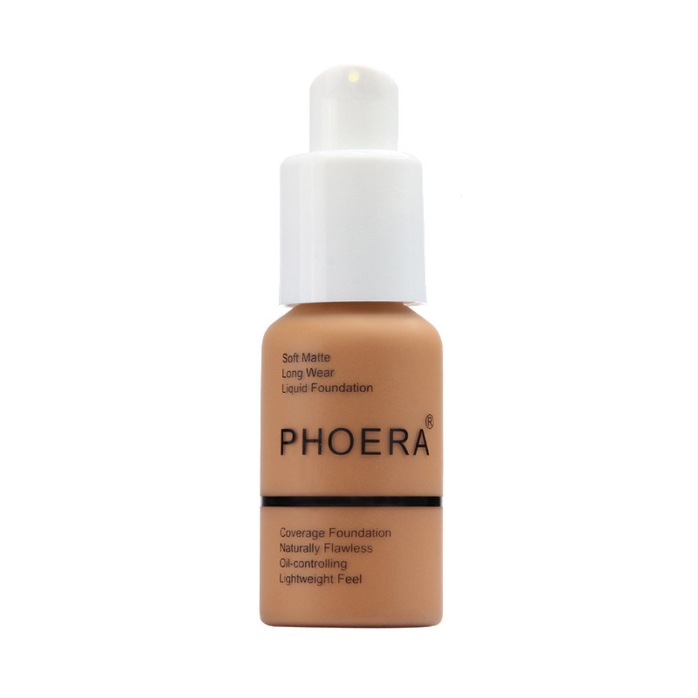 CYCTECH PHOERA New Matte Oil Control Strong Concealer For A Variety Of Skin Types 24 Hours Difficult To Remove Makeup Liquid 30ml (H)
