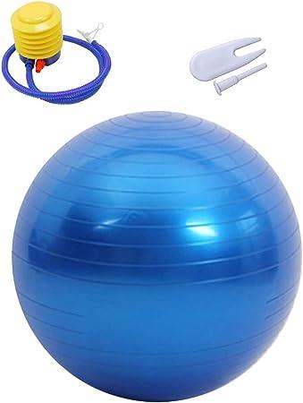 Yoga Ball Anti Burst Exercise Balance Workout Stability 45 55 65 75 95cm No Pump