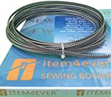 "Item4ever Spiral Metal Boning - 10 Yards, 1/4"" + 24 Tips"