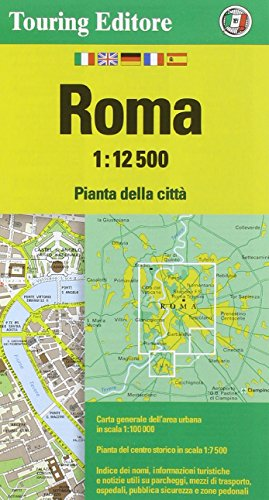 Rome 1:12.5K TCI 2014 (English and Italian Edition)