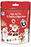 Make Your Own Festive Christmas Figures 6 Designs Plaster of Paris
