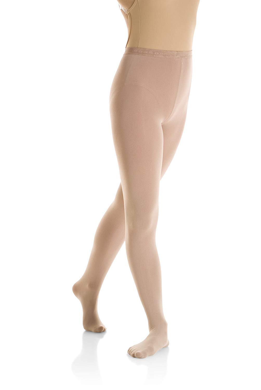 b8d5fd93dab9c Amazon.com: Mondor 3337 Caramel Footed Evolution Figure Skating Tights:  Home & Kitchen