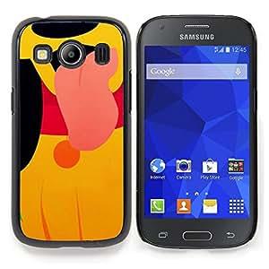 """For Samsung Galaxy Ace Style LTE/ G357 Case , Carácter lindo perrito de la historieta Amarillo"""" - Diseño Patrón Teléfono Caso Cubierta Case Bumper Duro Protección Case Cover Funda"""