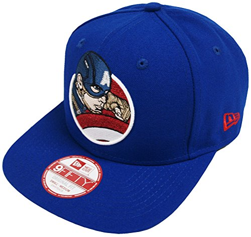 New Era Marvel Civil War Retroflect Captain America Snapback Cap Kappe 9fifty