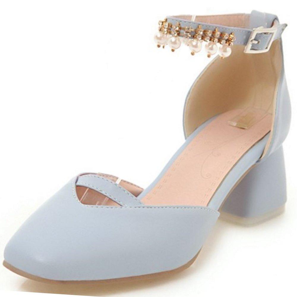 Zanpa Doux Femmes B07H3L75Y8 Doux Sandales with Fleur Sandales 2#blue 6201748 - automatisms.space
