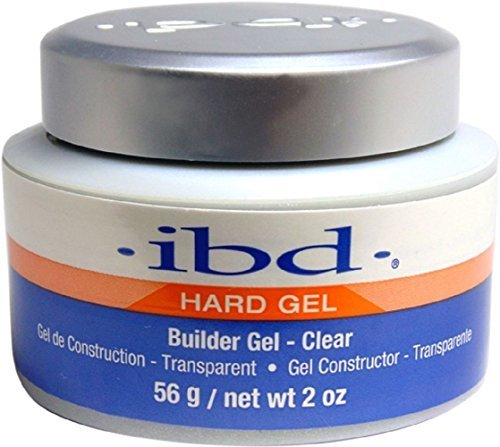 Clear Ibd Tips (IBD Builder Gel Clear UV Gel Strong 2oz 56g)