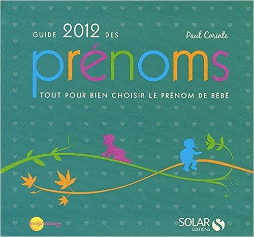 Livres gratuits Guide des prénoms 2012 epub pdf