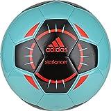 adidas Performance Starlancer IV Soccer Ball, Vivid Mint/Black/Solar Red, 3